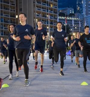 running-session-night